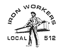 Twin city ironworkers local union logo